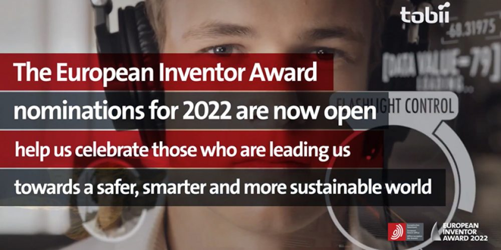 Nominirajte izumitelja za »European Inventor Award 2022«